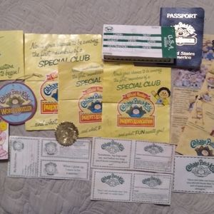 Cabbage Patch Kids Certificates 1982-85
